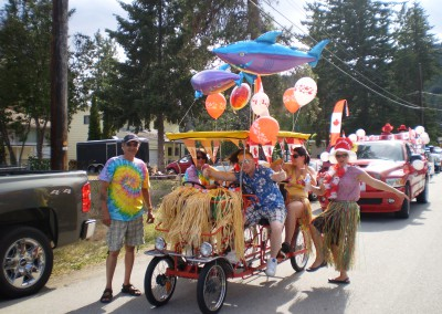Canopy Bike Float