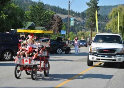 Canopy Bike and Truck