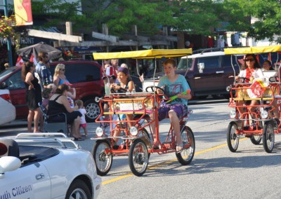 Canopy Bikes Parade