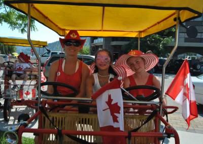 Canopy Bike Canada Day