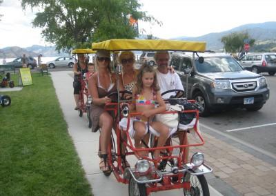 Canopy Bike Sidewalk