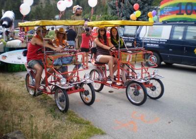 Canopy Bikes & Balloons